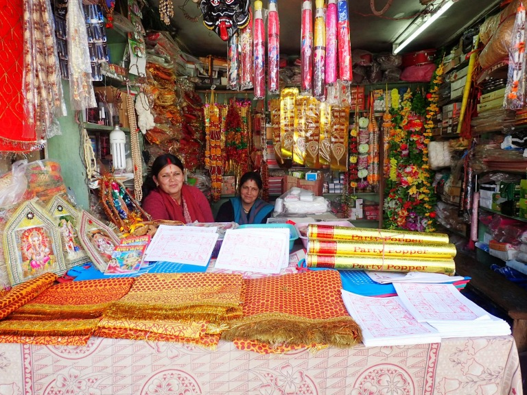 Women in their shop - Ranikhet Market