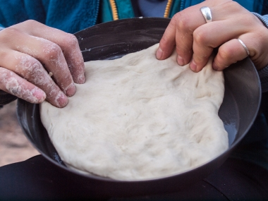 Making the crust